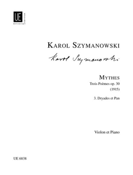 Dryades Et Pan, Op. 30/3 (Myth