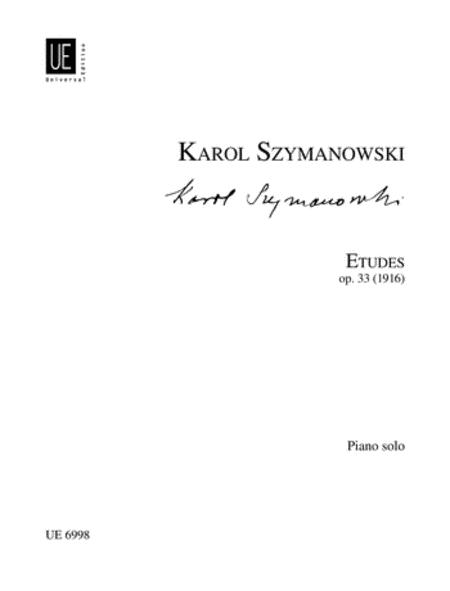 Etudes, Op. 33, Piano