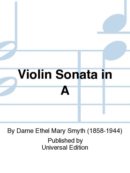 Violin Sonata in A
