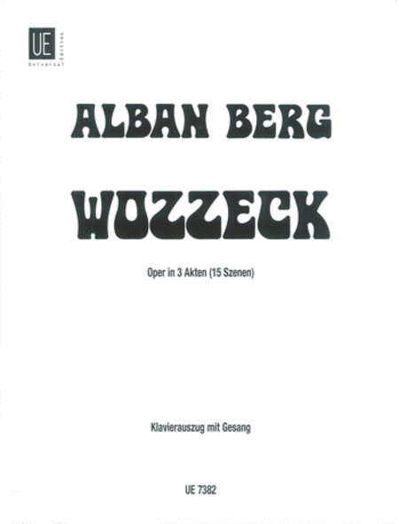 Wozzeck, Vocal Score