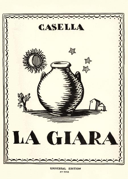 Giara, Piano Score