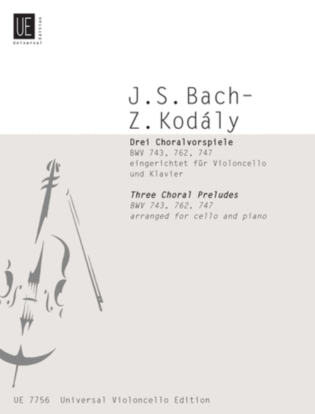 Chorale Preludes, 3 (Bach)