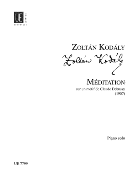 Meditations On A Theme of Debussy