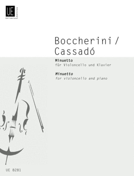 Minuetto, Violincello/Pianoforte (Cassado)