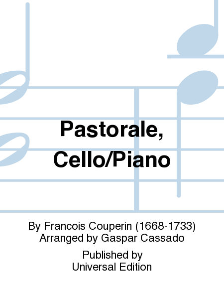 Pastorale, Cello/Piano