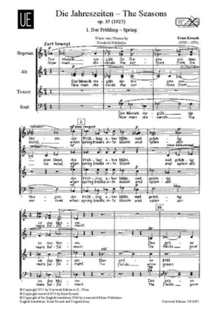 Seasons, Op. 35