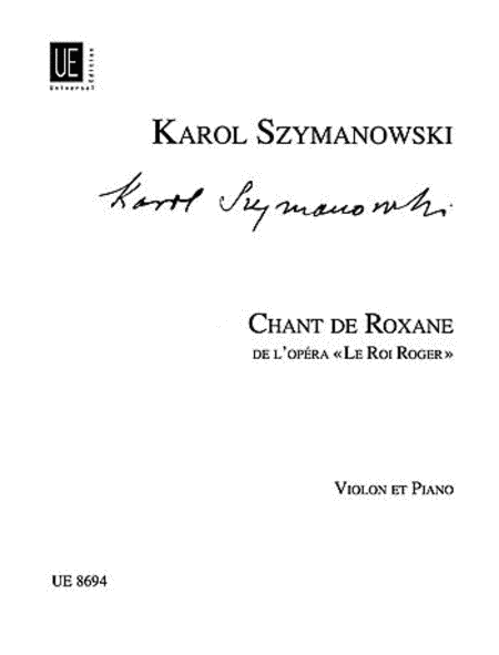 Chant De Roxane From King Roge