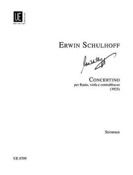 Concertino, Flute/Viola/Db, Parts