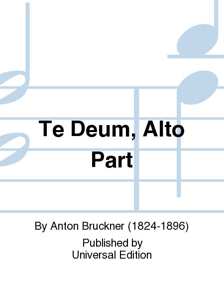 Te Deum, Alto Part
