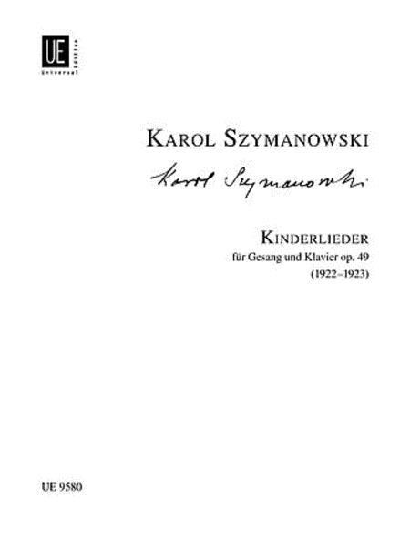 Kinderlieder, Op. 49, Med