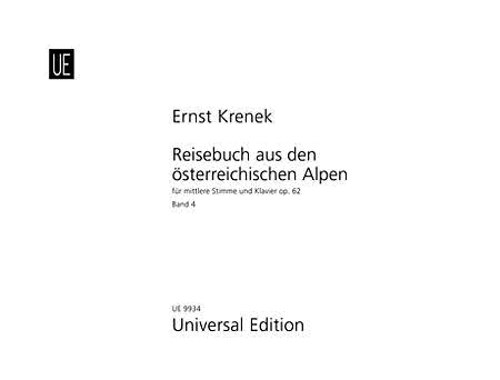 Reisebuch, Op. 62, Vol 4