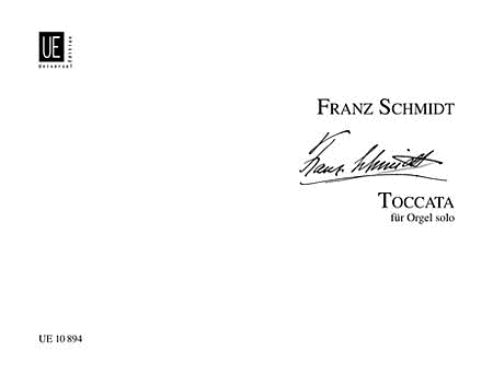 Toccata, Organ