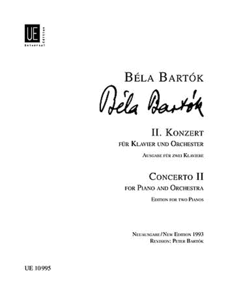 Bartok Piano Concerto 2 *Canad