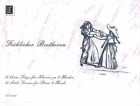 German Dances, 15, Piano 4 Han