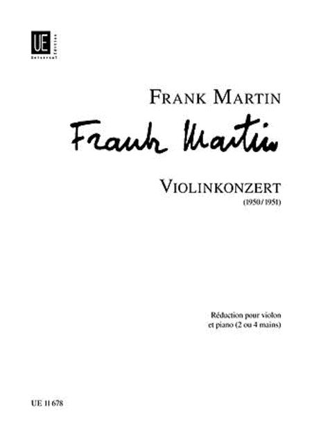 Violin Concerto, Violin/Piano