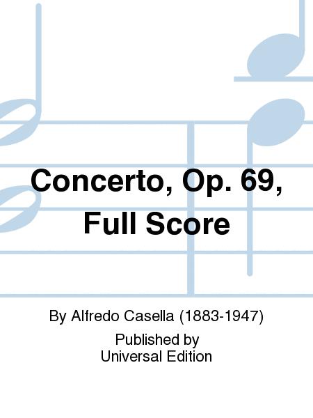 Concerto, Op. 69, Full Score