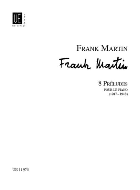 Preludes, 8, Piano