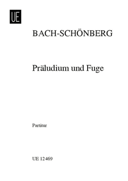 Prelude and Fugue (Schoenberg)