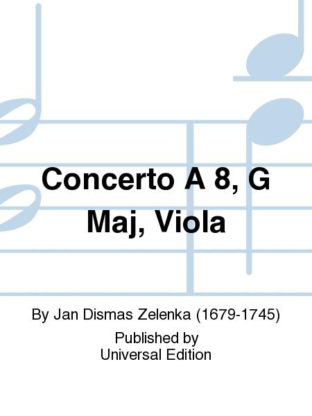 Concerto A 8, G Maj, Viola