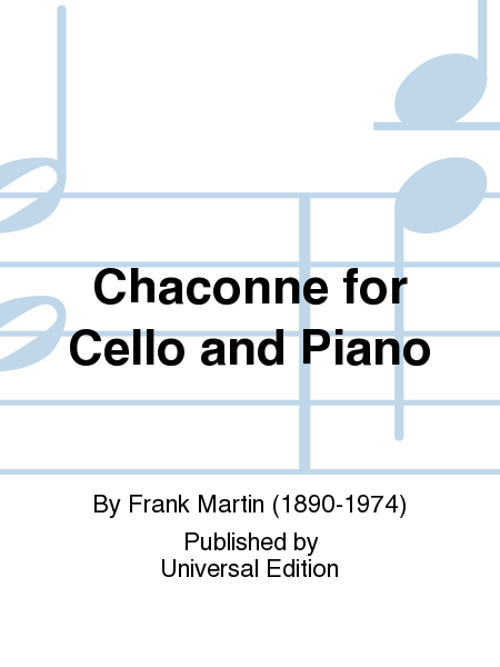 Chaconne for Cello and Piano