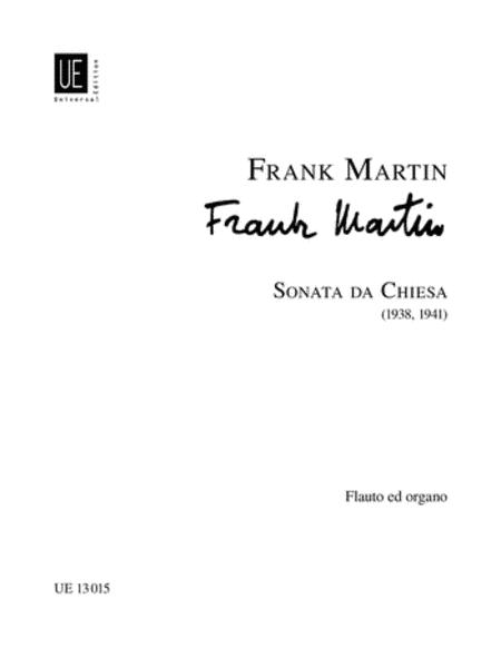 Sonata Da Chiesa, Flute & Orga