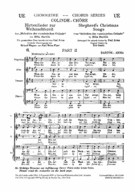 Shepherds Christmas Songs, Pt2