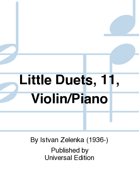 Little Duets, 11, Violin/Piano