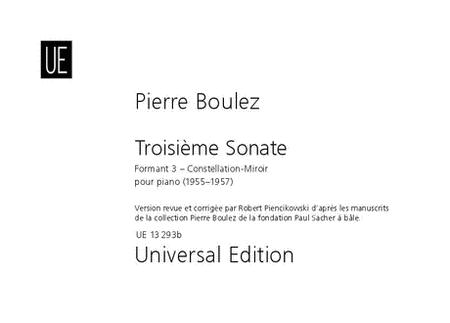 Piano Sonata 3, Formant 3, Mi