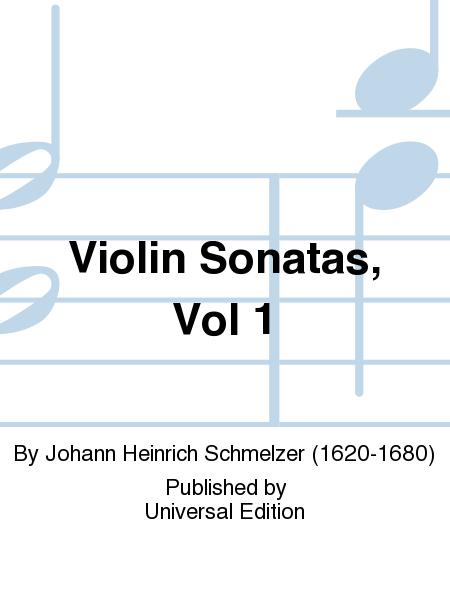 Violin Sonatas, Vol 1