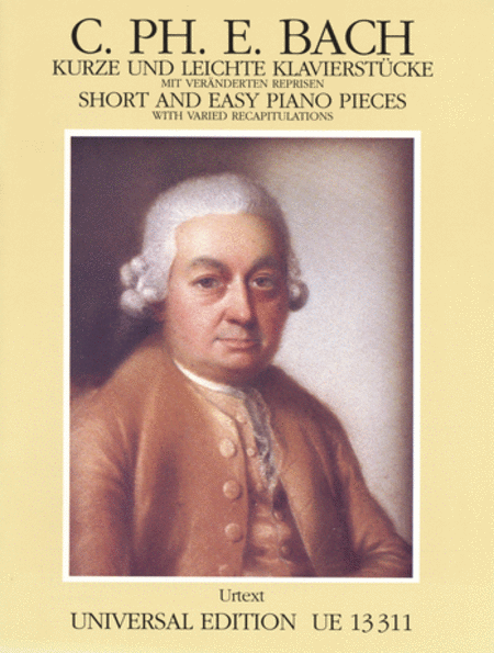 Short and Easy Piano Pieces (J