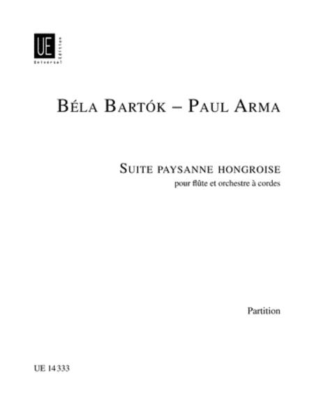 Suite Paysane Hongroise,Flute/Orc