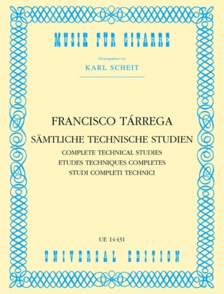 Technical Etudes, Complete, Gu