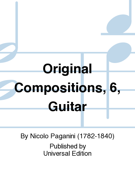 Original Compositions, 6, Guitar