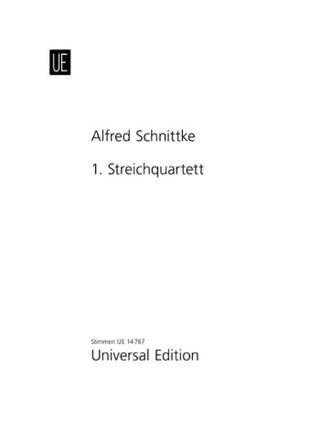 String Quartet No. 1 (parts)