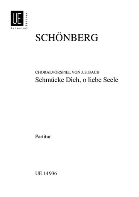 Schmucke Dich, Schoenberg, Stu