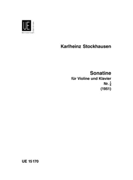 Sonatina, Violin/Piano
