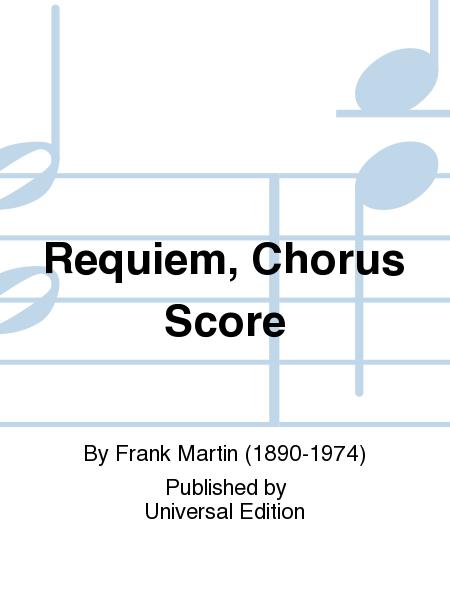 Requiem, Chorus Score