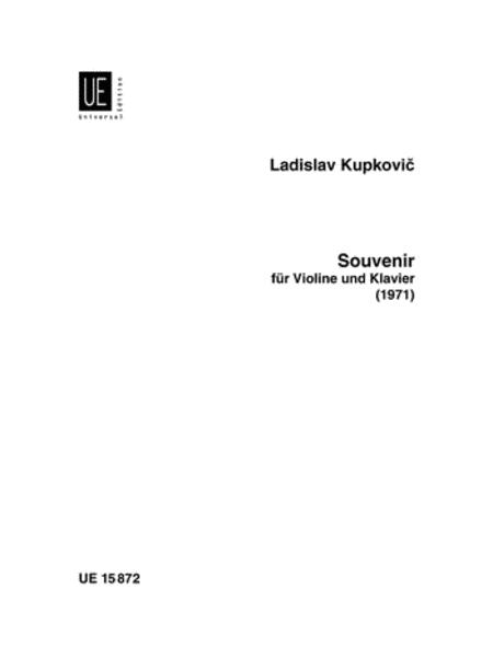 Souvenir, Violin/Piano