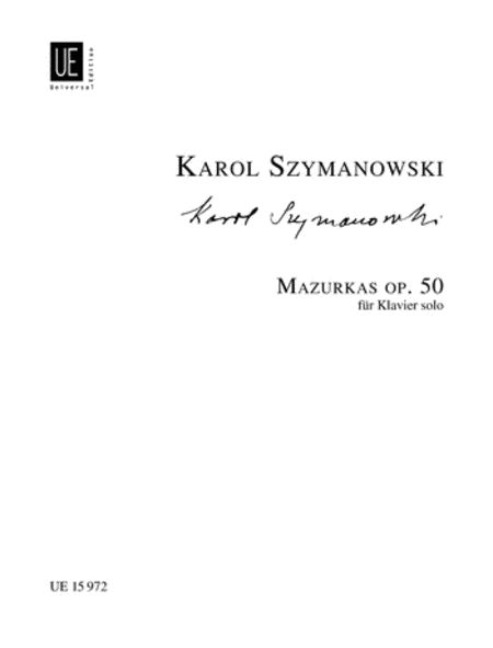 Mazurkas, Op. 50