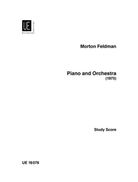 Piano And Orchestra, F.S.