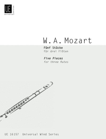 Pieces, 5, 3 Flutes