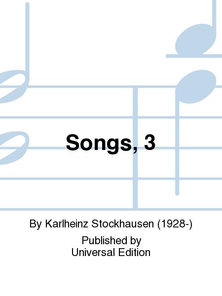 Songs, 3