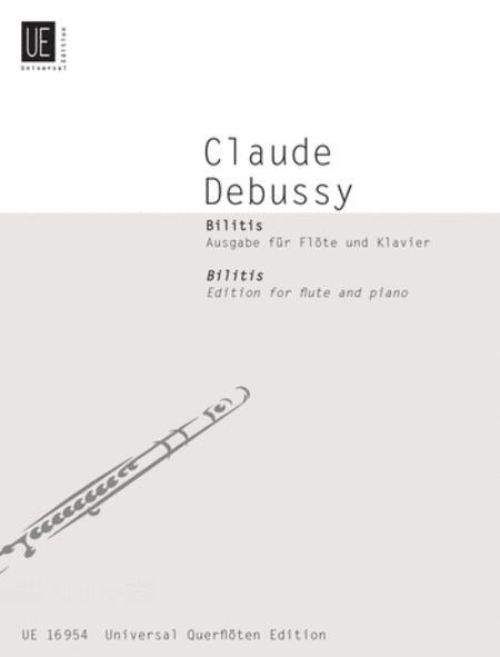 Bilitis, Flute/Piano