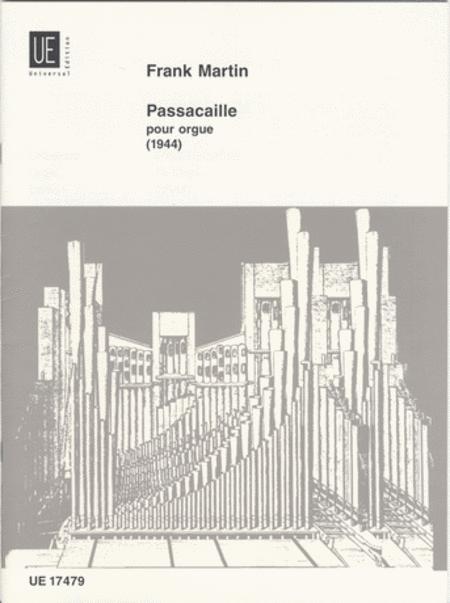 Passacaille, Organ