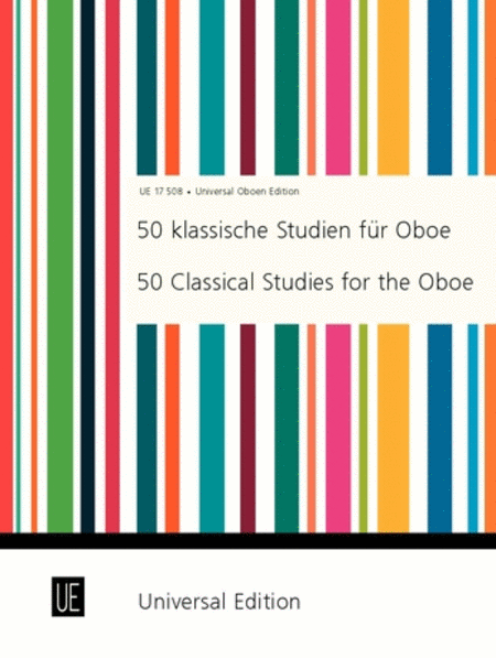 Classical Studies For Oboe, 50