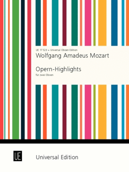 Mozart Opera Highlights 2ob