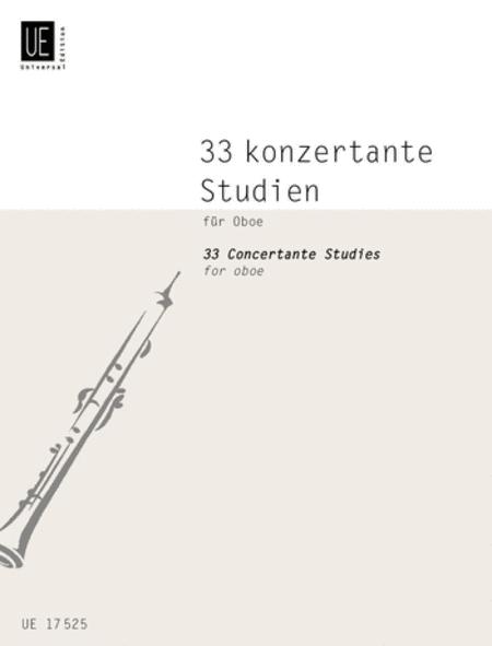 Concert Studies, 33, Oboe