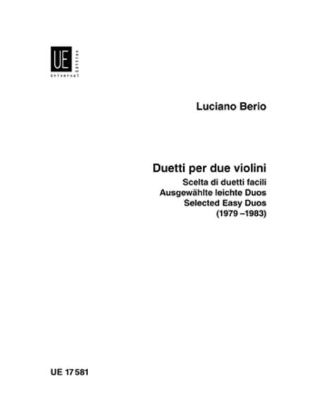 Easy Duets, Selected, 2 Violins