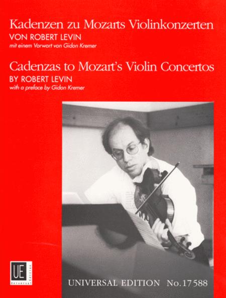 Cadenzas to Mozart's Violin Concertos