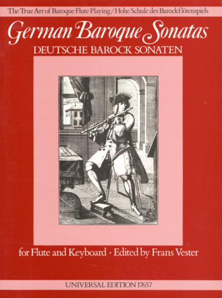 German Baroque Sonatas, Flute/